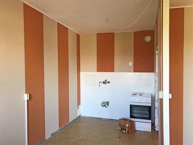 Küchenbereich: 3-Raum-Wohnung Alte Heerstraße 210