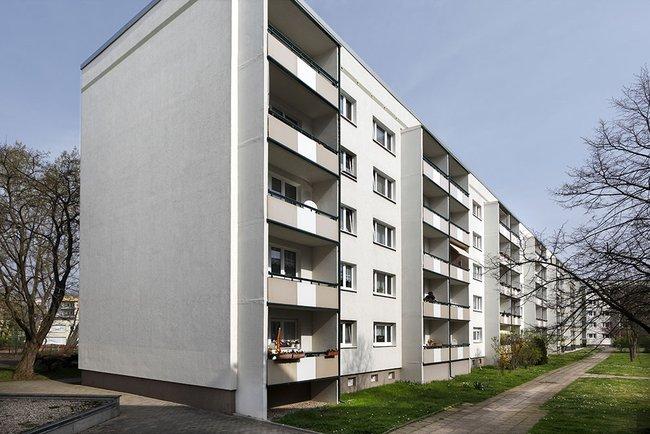 Hausansicht: 3-Raum-Wohnung Züricher Straße 18