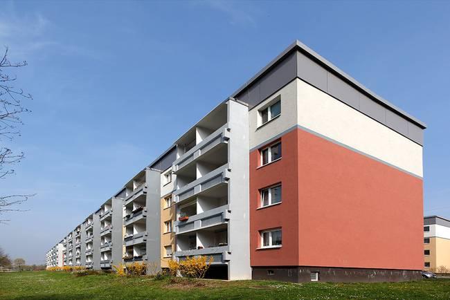 Giebel: 3-Raum-Wohnung Riedweg 11